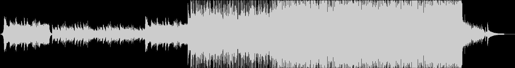 感動系ミディアムポップスの未再生の波形