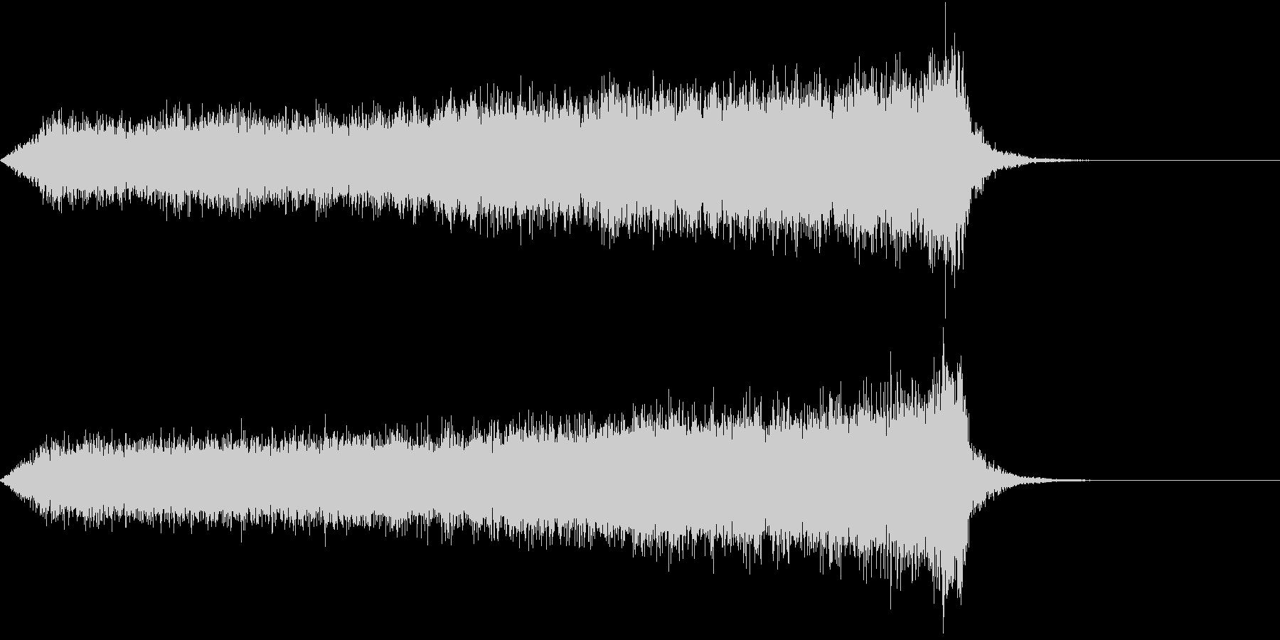 CINEMATIC RISER_02の未再生の波形