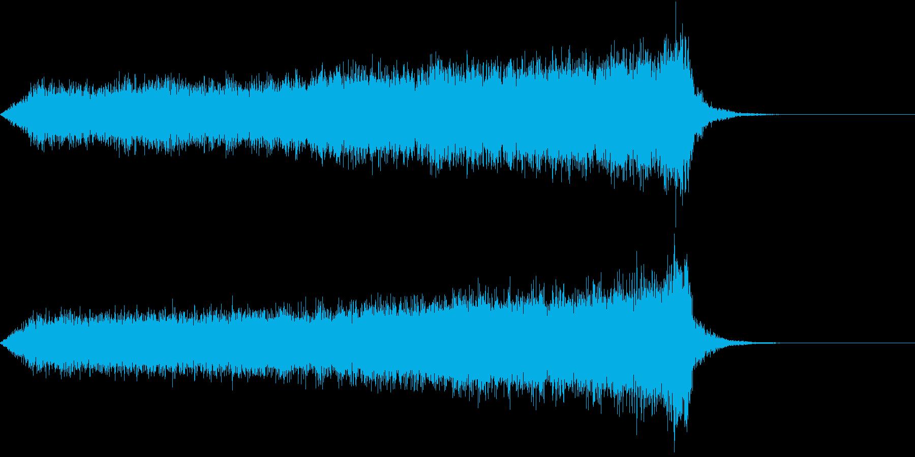 CINEMATIC RISER_02の再生済みの波形