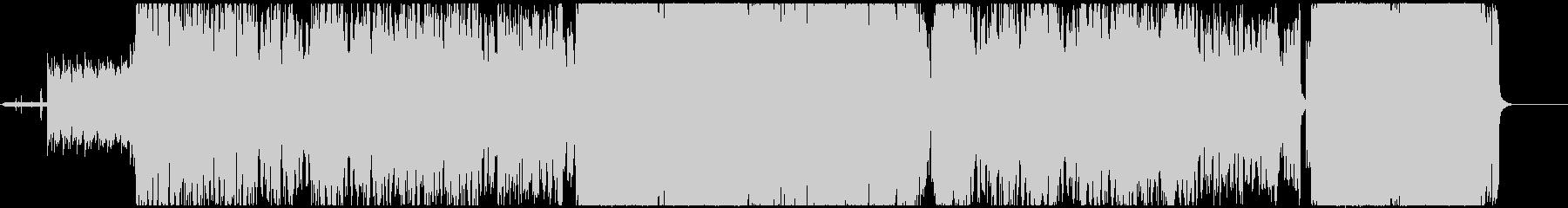 INTERCEPTORの未再生の波形