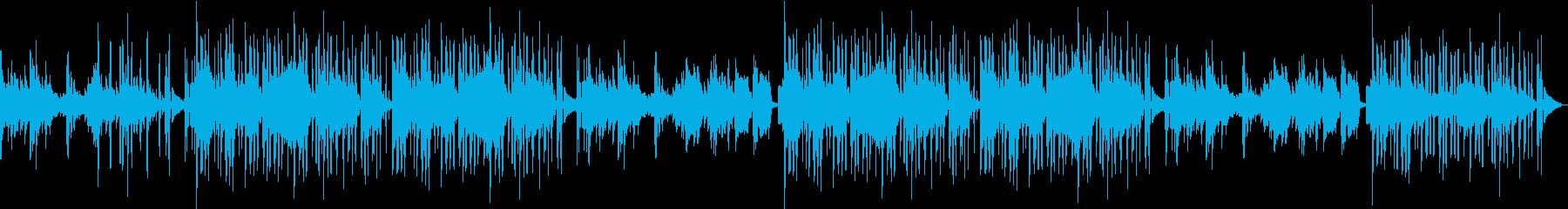 ピアノ・綺麗・シティ・夜・センチメンタルの再生済みの波形
