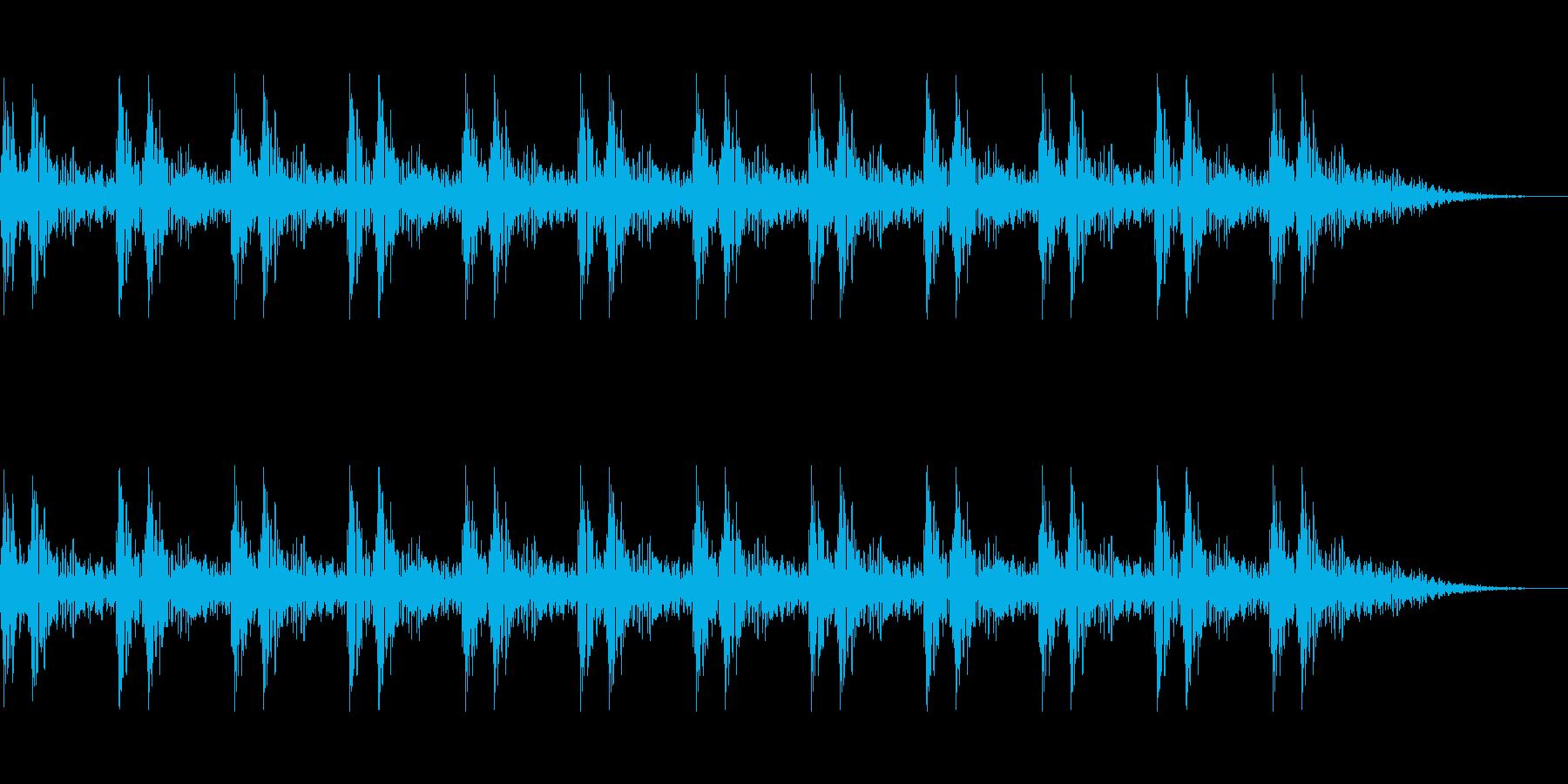 ドクッドクッ 緊張 緊迫 心臓の鼓動  の再生済みの波形
