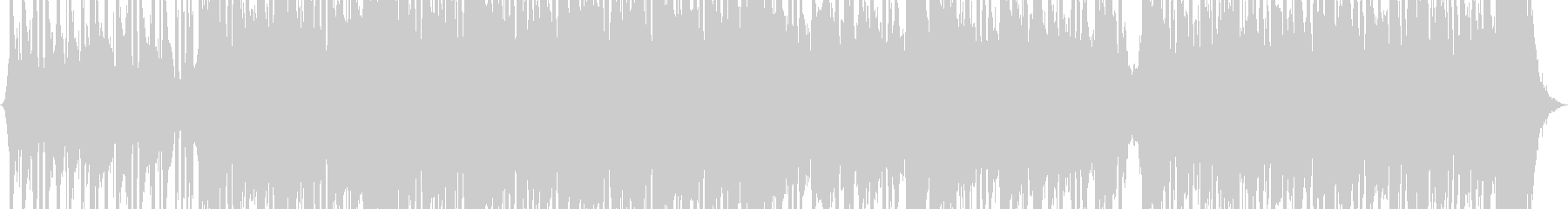 スタイリッシュなインディーロックの未再生の波形