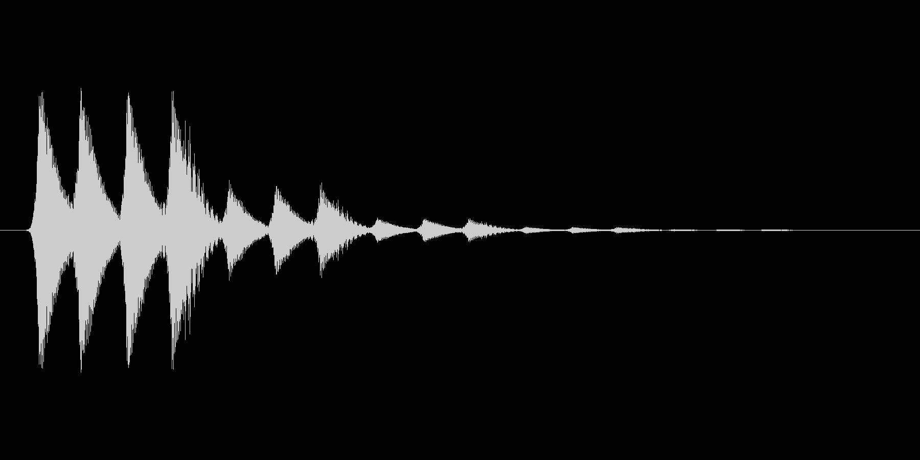 ファミコン風効果音 キャンセル系 10の未再生の波形