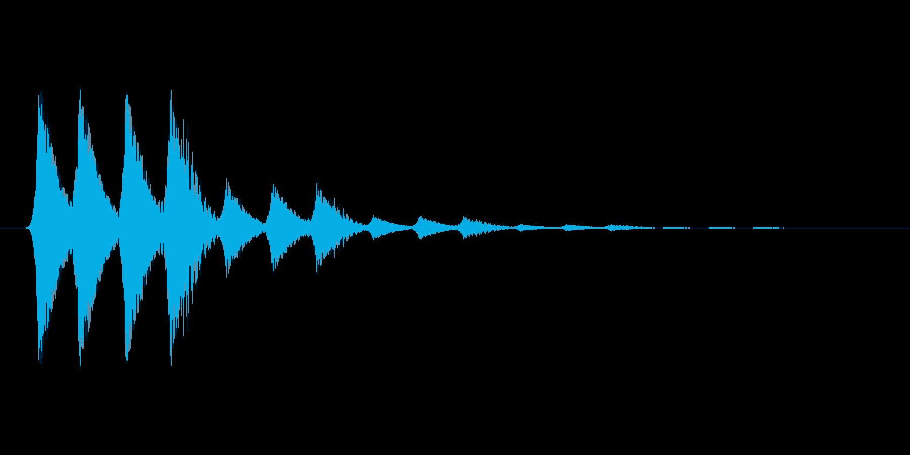 ファミコン風効果音 キャンセル系 10の再生済みの波形