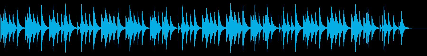 ハッピーバースデー 18弁オルゴールの再生済みの波形