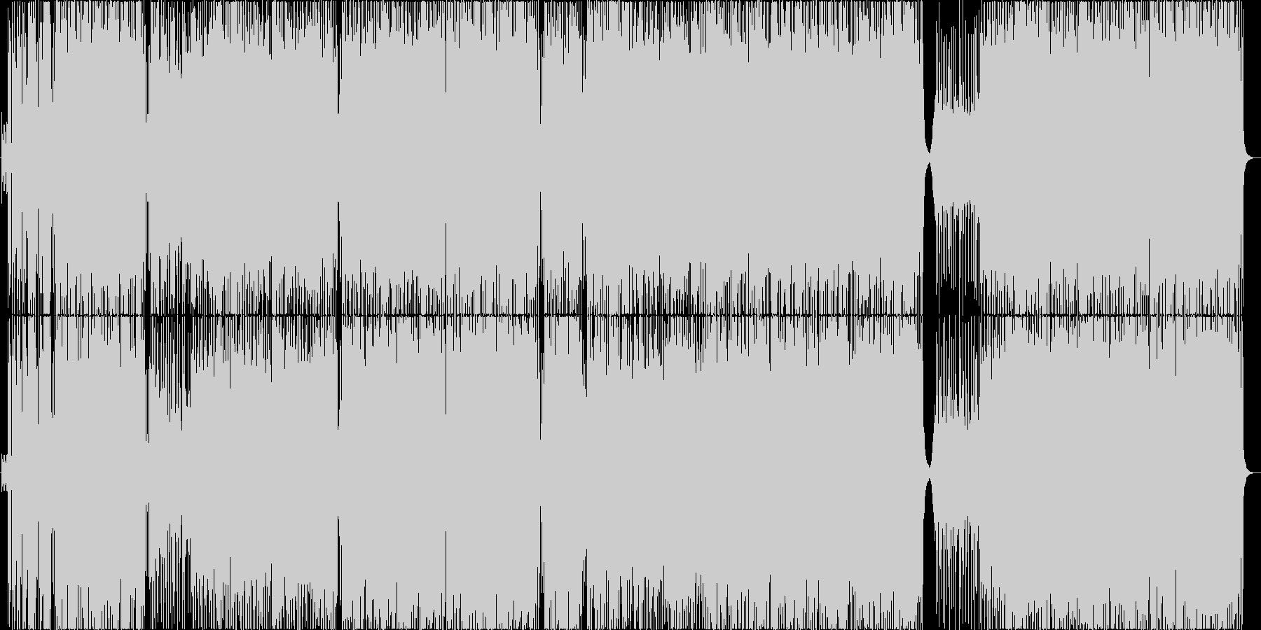 MURAMASAの未再生の波形