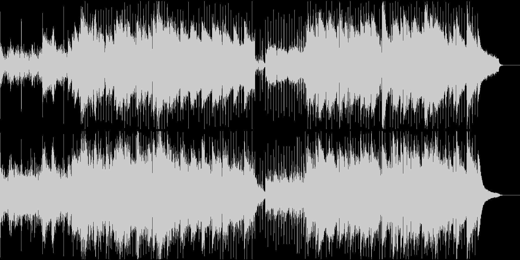 キラキラしたピアノとアコギの企業VPの未再生の波形