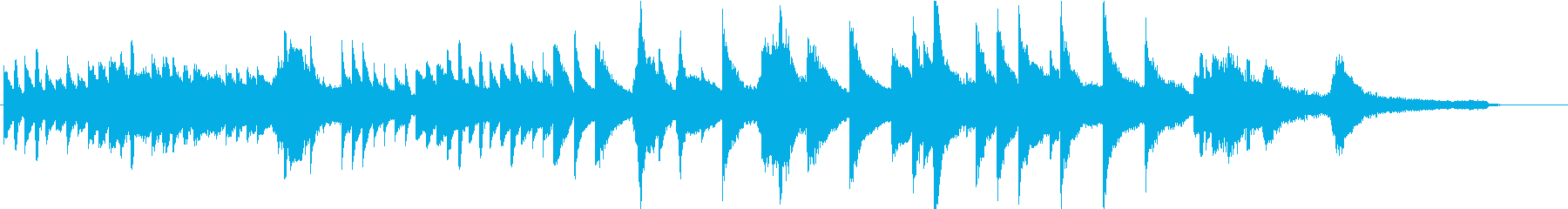 CM・企業VP等に透明感のあるピアノソロの再生済みの波形