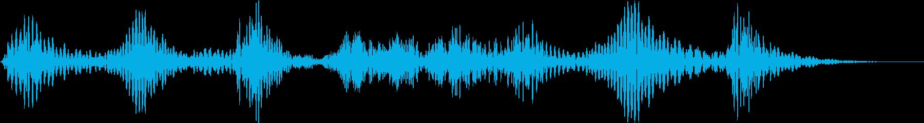 電子テレメトリ:低ミュートバースト...の再生済みの波形