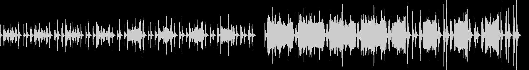 ほのぼの優雅なワルツ風ループBGM2の未再生の波形