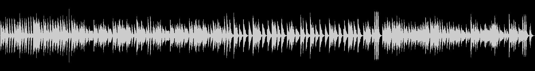 ピアノ 元気 明るい スキップ ループの未再生の波形