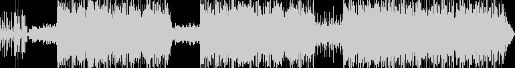ファンキーなエレクトロビートの未再生の波形