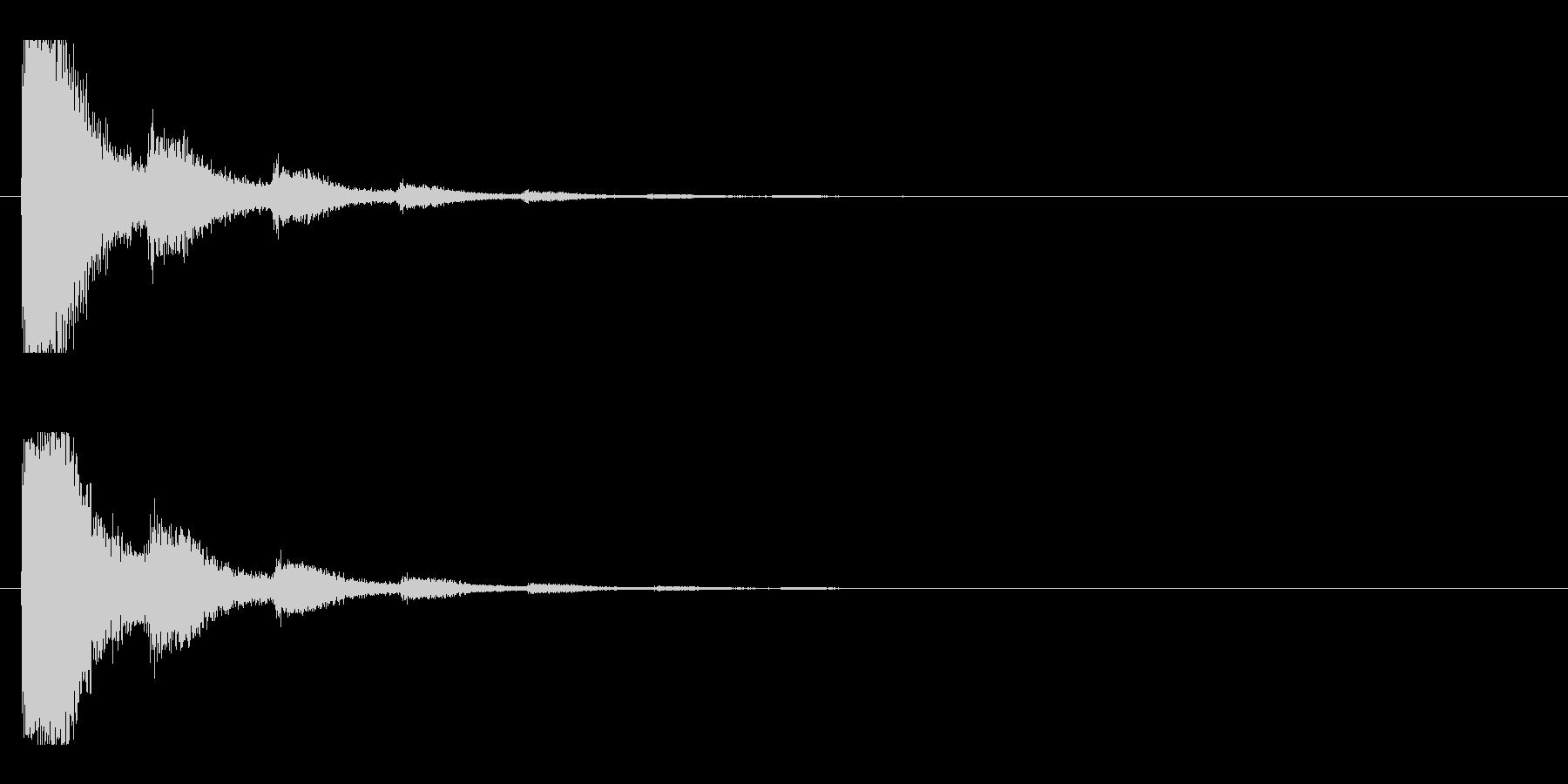 レーザー音-11-2の未再生の波形