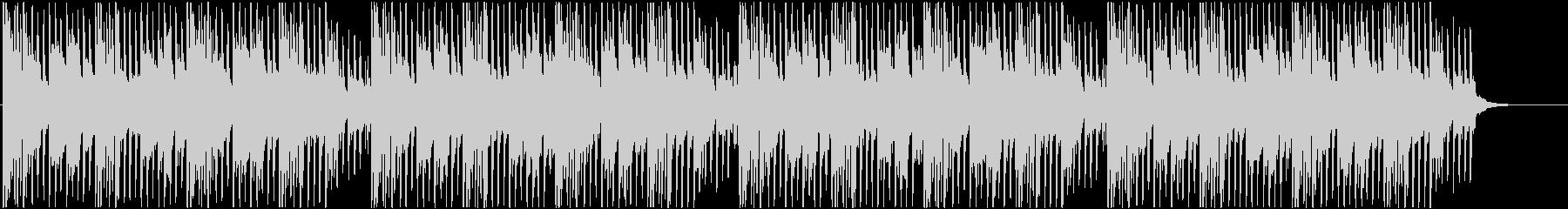 ポップ系 ピアノとアコギの爽やか四つ打ちの未再生の波形
