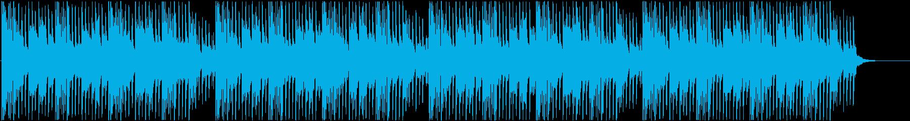 ポップ系 ピアノとアコギの爽やか四つ打ちの再生済みの波形