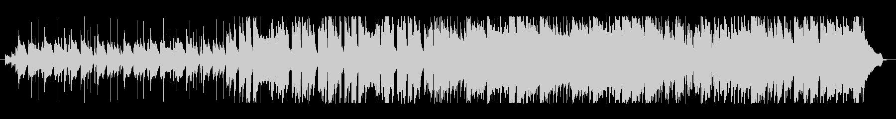 マリンバのリフが特徴的なポップスの未再生の波形