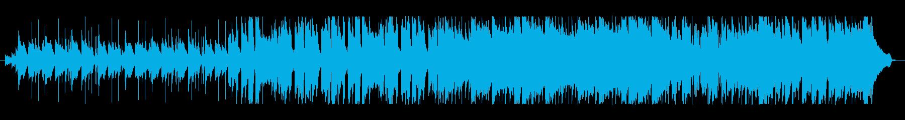 マリンバのリフが特徴的なポップスの再生済みの波形
