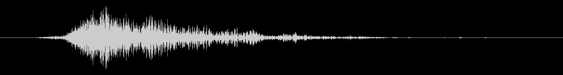 斬撃 ファイヤーイグナイトスモール02の未再生の波形