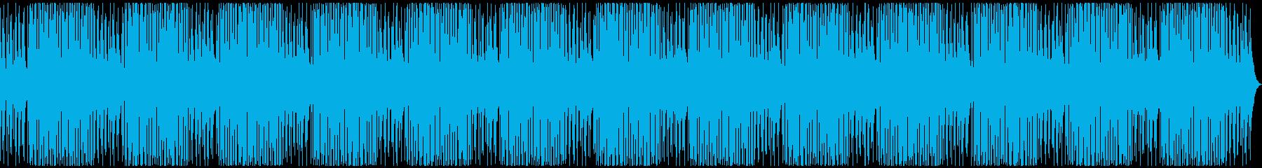 ローファイなチルアウトの再生済みの波形