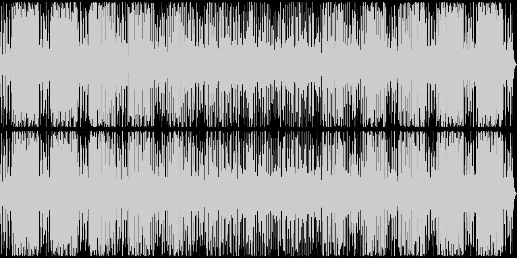 ローファイなチルアウトの未再生の波形