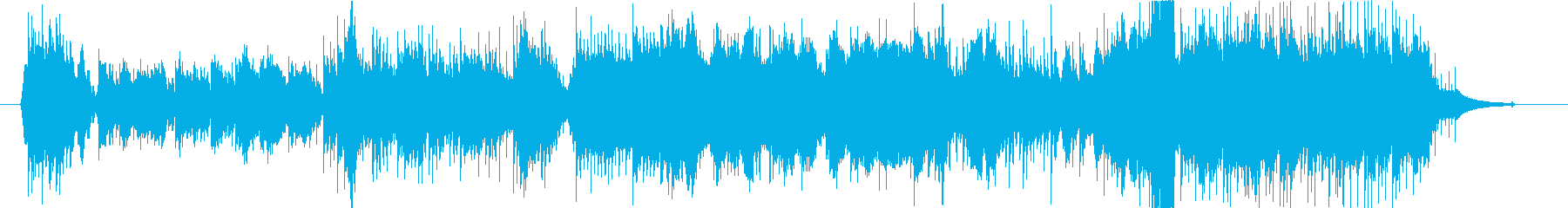Theme(「幸色のワンルーム」背景音楽)の再生済みの波形