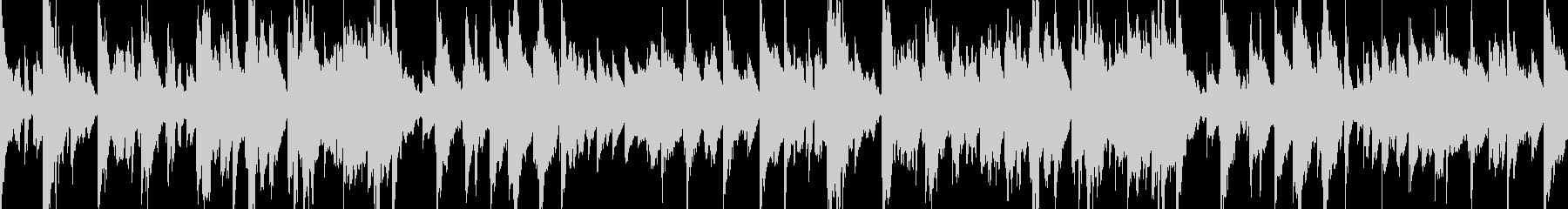 ゆったりとしたおしゃれなピアノBGMの未再生の波形