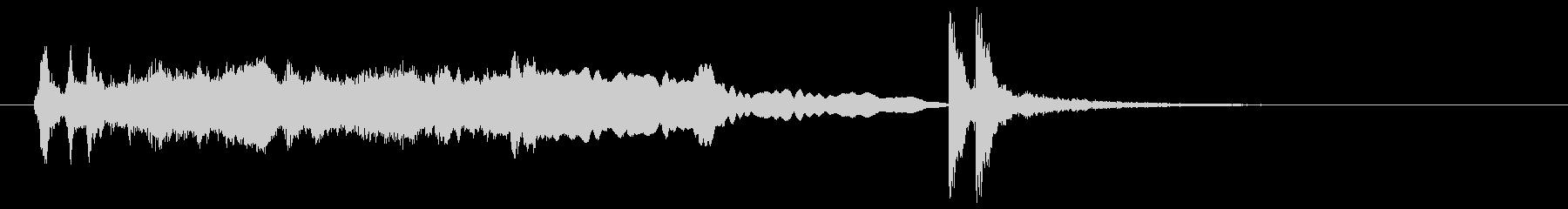 和風 掛け声よー深妙な感じ 笛、鼓 2の未再生の波形