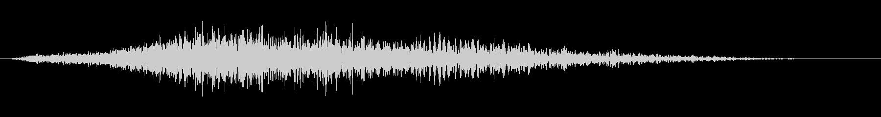 ジー、スモールスタジオオーディエンスの未再生の波形