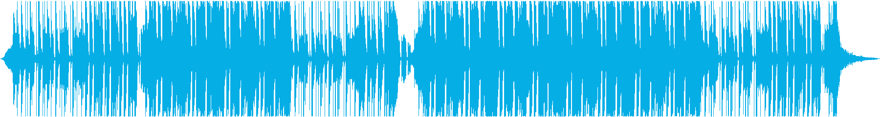軽快ポップロック、60秒ジングルの再生済みの波形