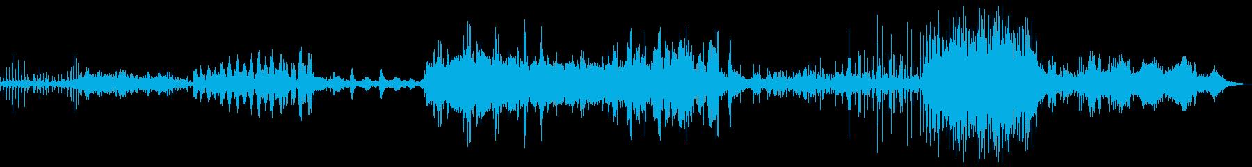 長い道のりミュージカルパルサーの再生済みの波形