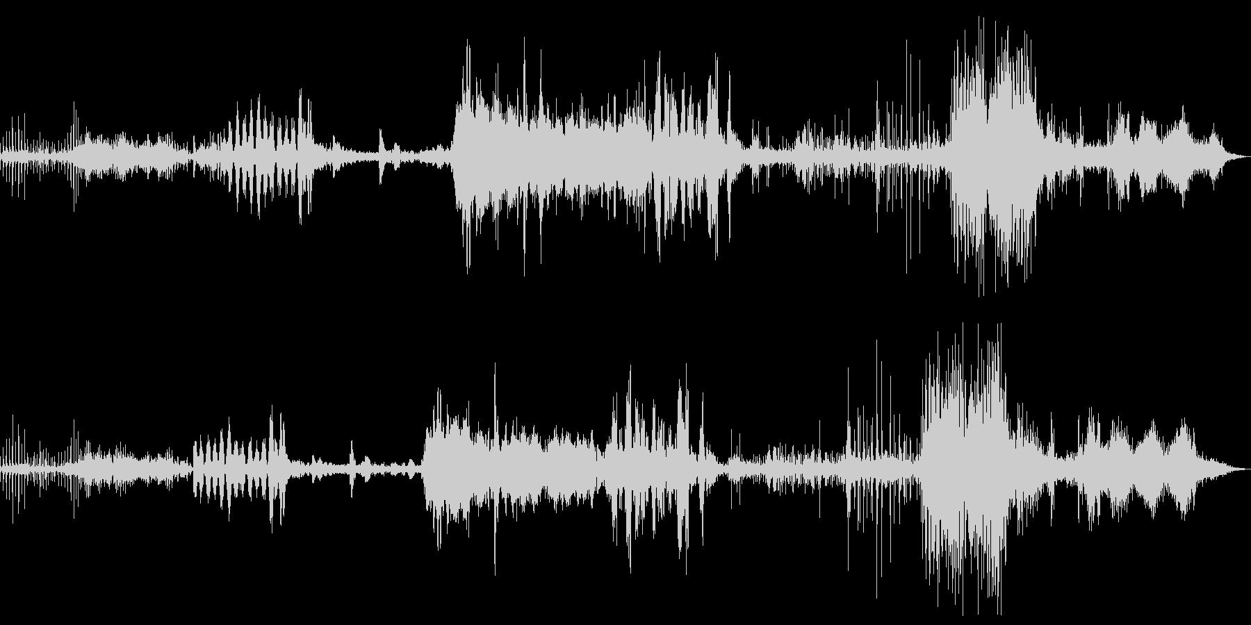 長い道のりミュージカルパルサーの未再生の波形