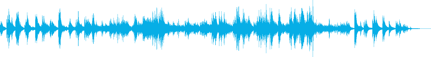 爽やかな風(ピアノソロ・優しい・安心感)の再生済みの波形