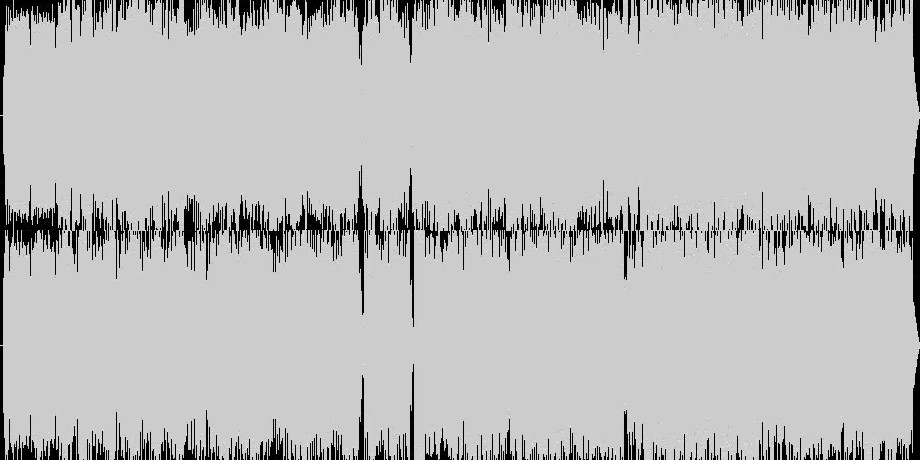 ホラー系に最適なグラインドコアの未再生の波形
