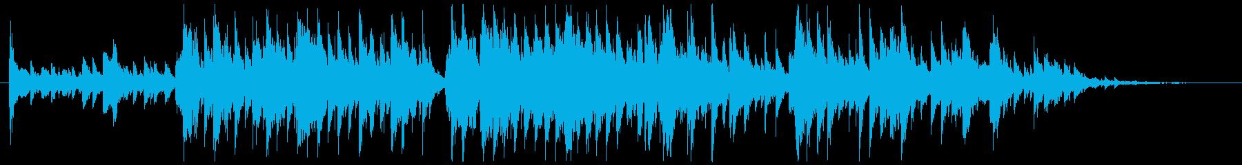 重い穴の再生済みの波形