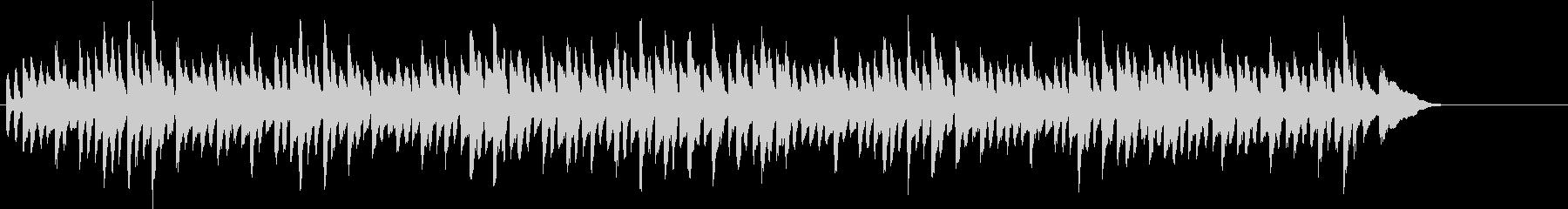 チャイコフスキーのかわいらしいピアノ曲の未再生の波形