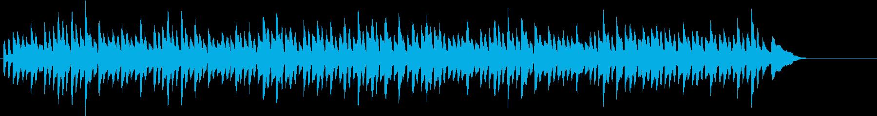 チャイコフスキーのかわいらしいピアノ曲の再生済みの波形