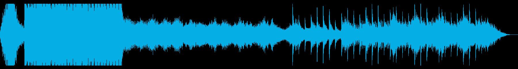 幻想的でアンビエントな、クールなサウンドの再生済みの波形
