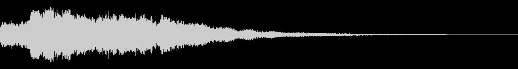 ホラーベル1の未再生の波形