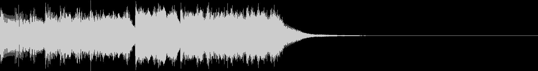 ファミコン風 レトロ ファンファーレ Cの未再生の波形