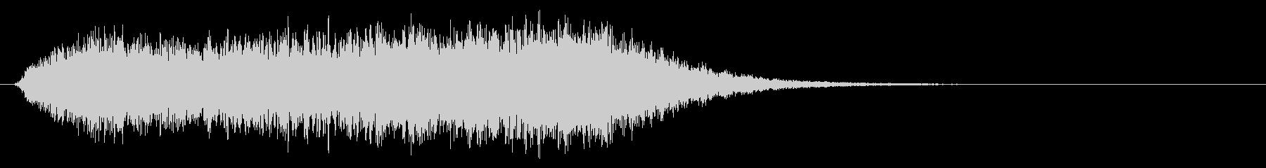 タイトルバック ホラー 18の未再生の波形