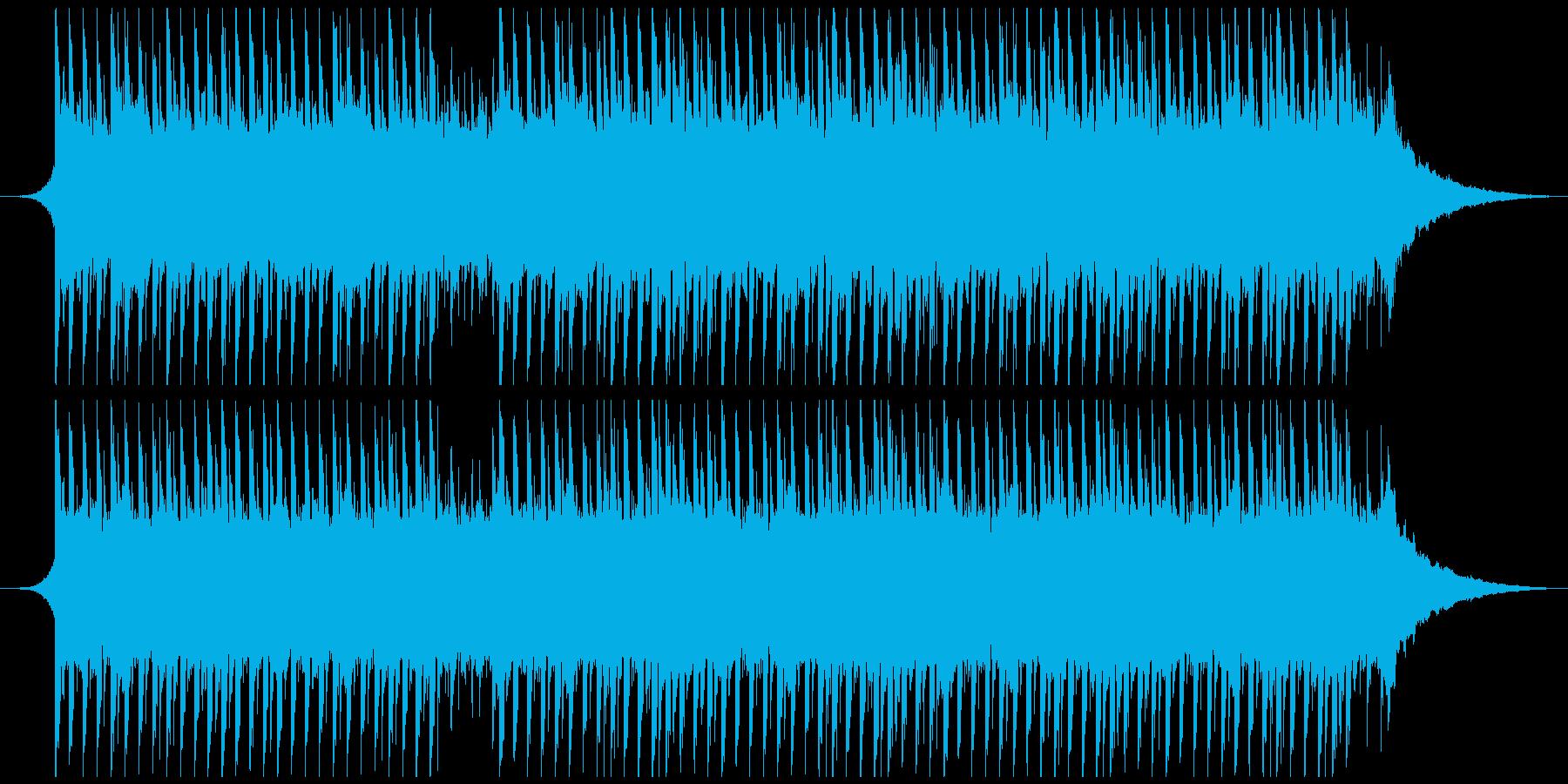 やる気を起こさせる動機づけ(56秒)の再生済みの波形