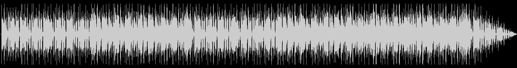 スラップベースが印象的なおしゃれBGMの未再生の波形