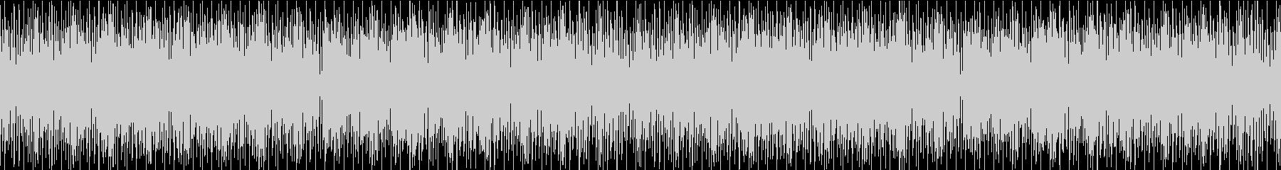 明るく可愛い雰囲気のBGM/ループ可能の未再生の波形