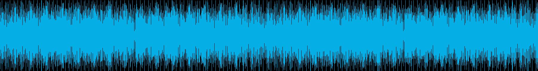 明るく可愛い雰囲気のBGM/ループ可能の再生済みの波形