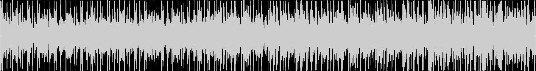 ノリノリのファンク (ループ可)の未再生の波形