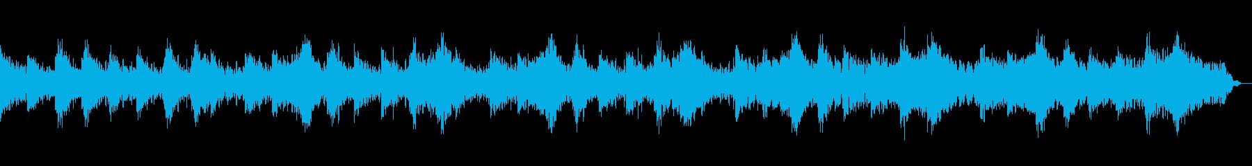 眠りが浅い方におすすめのセラピー音楽の再生済みの波形