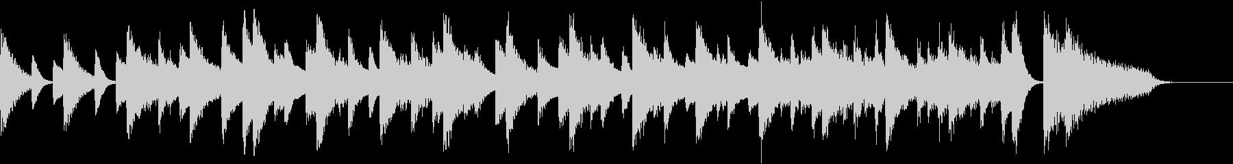 左手メロのアダルティジャズピアノジングルの未再生の波形