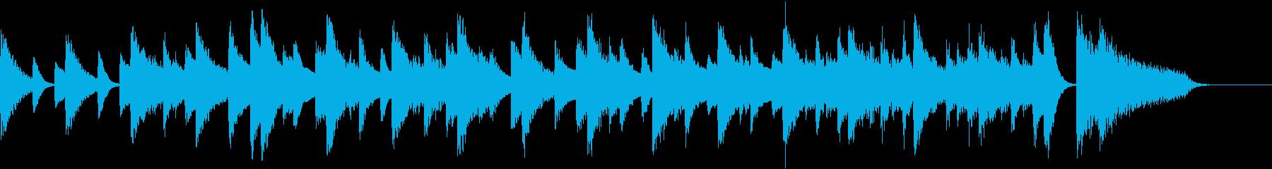 左手メロのアダルティジャズピアノジングルの再生済みの波形