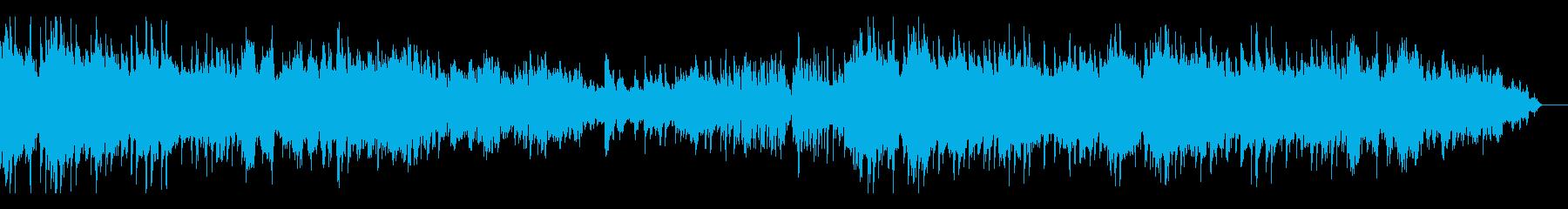 即興曲風の激しく情熱的なピアノの再生済みの波形